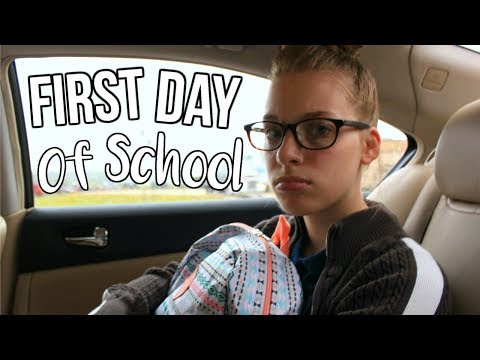 My School Morning Routine! First Day Of School! 2017    Chloe's Crazy Life
