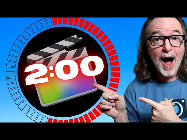 How To Make Your Own Countdown Timer In Final Cut Pro X Without A Plugin