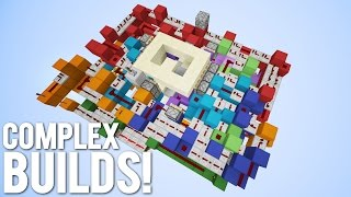 Minecraft: 5 of my Most Complex Contraptions!