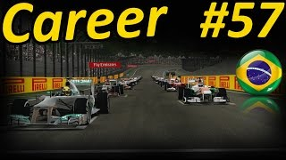 F1 2013 Brazil 100% Career Mode Part 57: THE FINALE