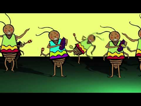 La Cucaracha (The Dancing Cockroach Video) by DARIA