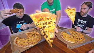 Pizza Eating Challenge! Who Can Eat The Most Vegan Pizza???