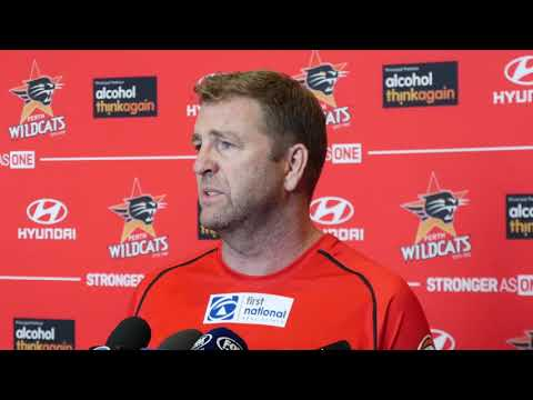 Perth Wildcats - Trevor Gleeson Press Conference 150 Games - 18 January 2018