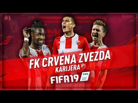 CRVENA ZVEZDA VS PSG (LIGA SAMPIONA) - KARIJERA SA ZVEZDOM - FIFA 19