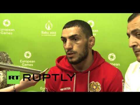 Azerbaijan: 'No anger' felt by Armenian wrestler Arutyunyan as he misses gold
