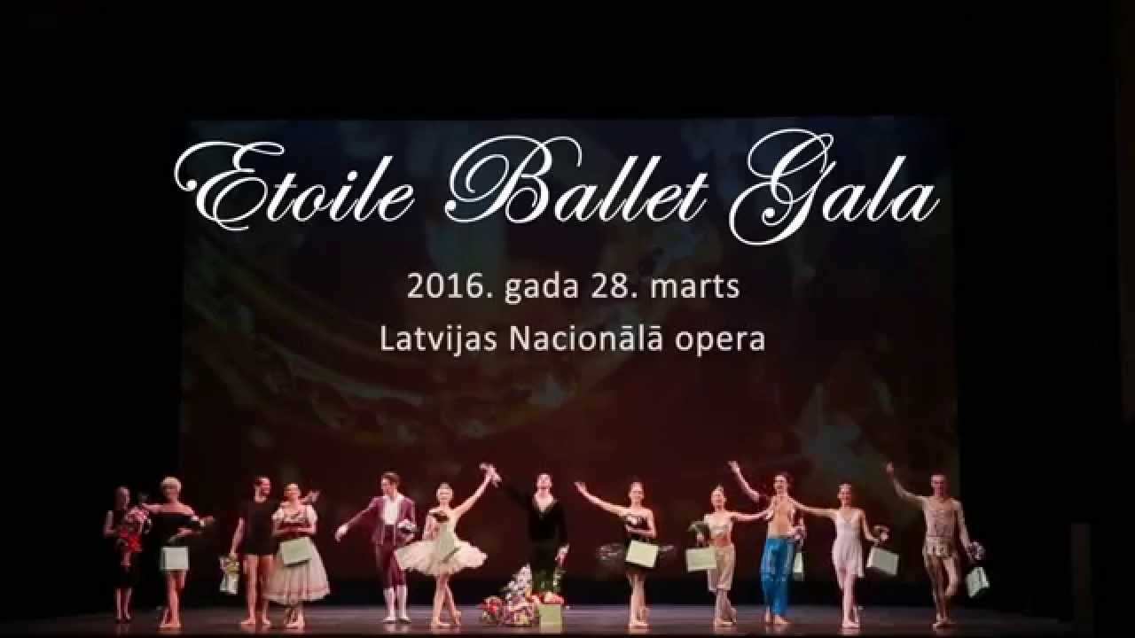 vi etoile ballet gala in riga 2016 trailer youtube. Black Bedroom Furniture Sets. Home Design Ideas