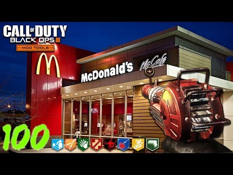 """SAVE THE SECRET RECIPE!"" - MCDONALDS ZOMBIES! - BLACK OPS 3 ""CUSTOM ZOMBIE"" MAP! (BO3 Mods)"