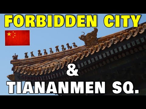 Forbidden City Palace Museum,  & Tiananmen Square Chinese Architecture Beijing | China Vlog_13