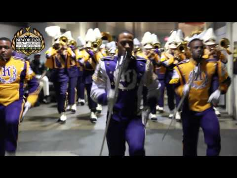 Edna Karr Band Marches out of the Superdome 2015