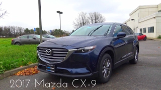 2017 Mazda CX-9 2.5 L Turbocharged Review