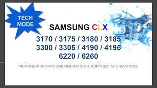 Video TECH MODE Samsung CLX 3300 3305 3170 3175 3180 3185 4195 6220 6260 download MP3, 3GP, MP4, WEBM, AVI, FLV Agustus 2018