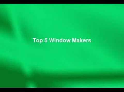 Review Of The Top 5 Replacement Window Makers Youtube