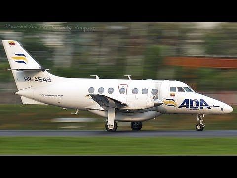 ADA Jetstream 32 Takeoff in Medellín