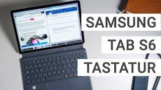 Samsung Galaxy Tab S6 Tastatur Cover im Test | Deutsch