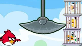 Angry Birds Rescue Partner - AVOID OBSTACLES RESCUE ALL ANGRY BIRDS