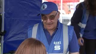 Blue Lights Brigade and Community Emergency Response Team (CERT)