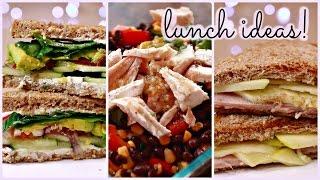 Healthy + Unique Lunch Ideas! Thumbnail