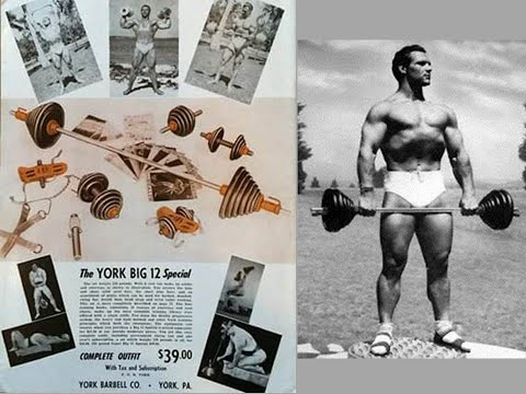 THE YORK BIG 12 SPECIAL! VINTAGE HOME GYM EQUIPMENT FROM THE SILVER ERA!!