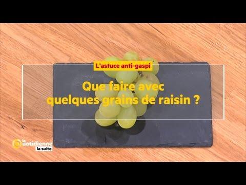 Que faire avec quelques grains de raisins youtube - Comment tailler une treille de raisin ...