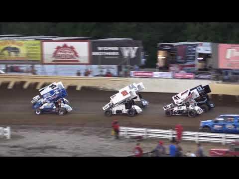Dominic Scelzi 9-1-17 Heat Race WoO Skagit Speedway Alger, WA