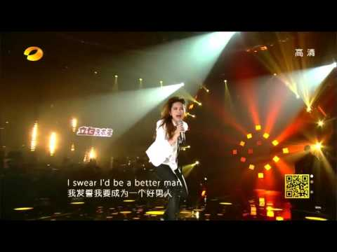 鄧紫棋 G.E.M TANG If I Were A Boy Cover at 我是歌手 第二季 I Am A Singer Season 2