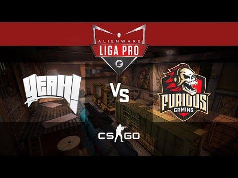 Alienware Liga Pro Gamers Club MAI/18 - YeaH vs Furious Gaming (Train)