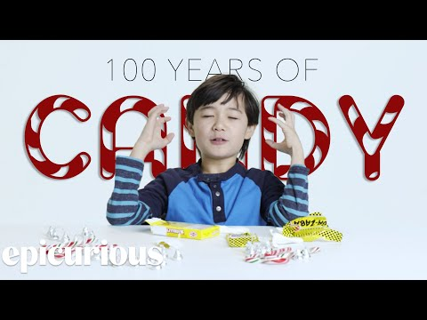 Thumbnail: Kids Try 100 Years of Candy From 1900 to 2000 | Bon Appetit