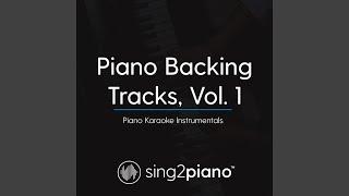When I Look At You (Originally Performed By Miley Cyrus) (Piano Karaoke Version)