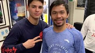 RYAN GARCIA SPARRING MANNY PACQUIAO IN PREPARATION FOR FONSECA FIGHT
