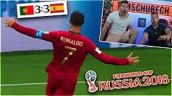 Portugal - Spanien Die Ronaldo Show LIVE Reaktion  ! Timo VS Simon Challenge (FIFA WM 2018)