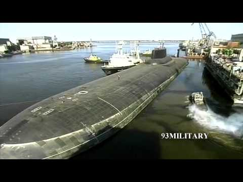 World's Biggest Submarines Typhoon Class