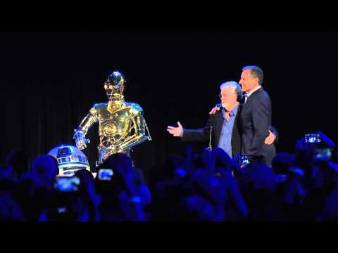 D23 Friday 8/15 Bob Iger and George Lucas Disney Legends HD