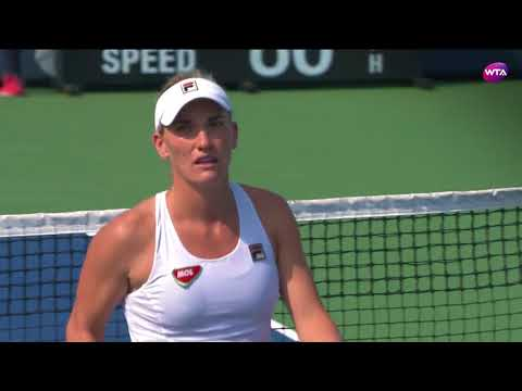2017 Connecticut Open 2nd Round   Timea Babos vs Daria Gavrilova   WTA Highlights
