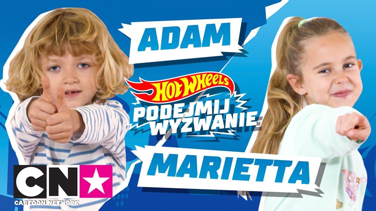 ADAM VS. MARIETTA | Hot Wheels: Podejmij Wyzwanie | Cartoon Network