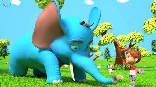 Песня Гигантского Слона | русская поэма | рифма для малышей | Giant Elephant Song