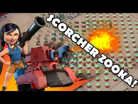 Trying To Win With SCORCHER ZOOKA! | Boom Beach