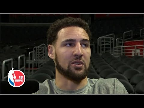 Warriors not worried about early start time – Klay Thompson | 2019 NBA Playoffs