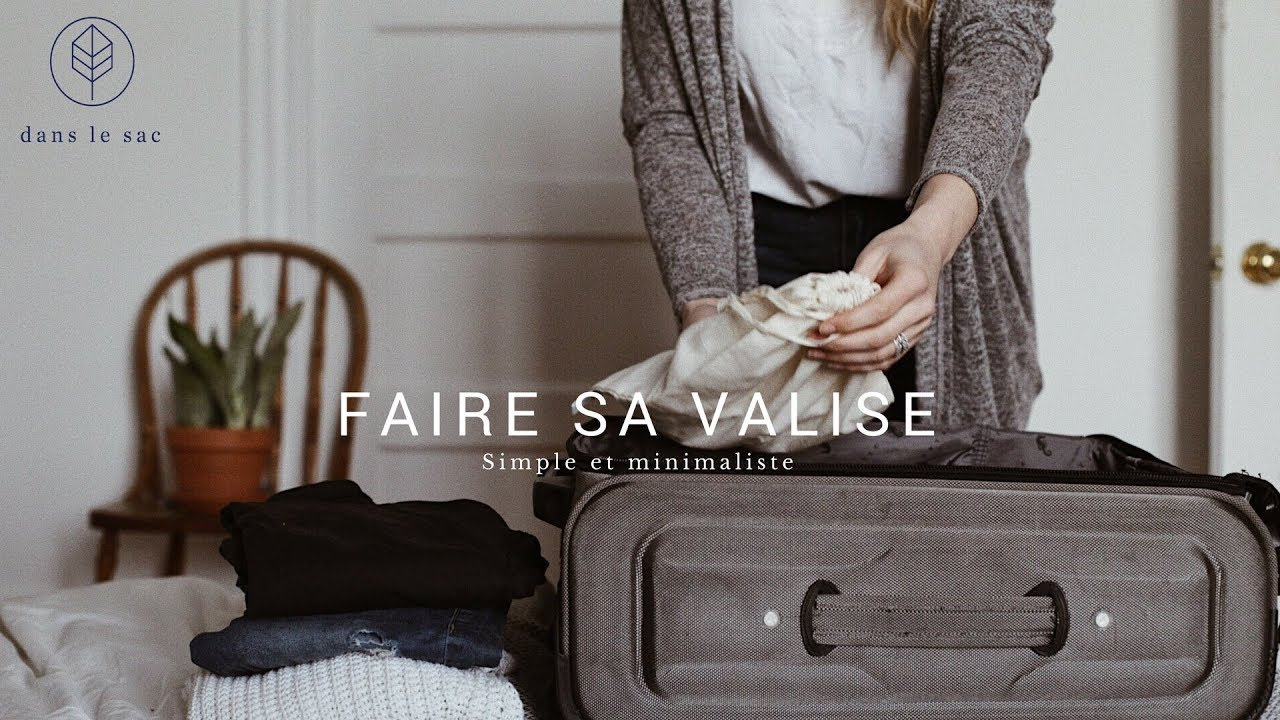 Voyage Zéro Déchet - Dans ma valise j'ai...