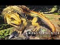Monster Hunter World Beta is FINALLY HERE! - Defeating Great Jagras Gameplay
