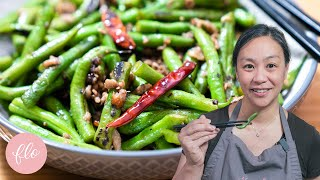 This is the TASTIEST Way to eat GREEN BEANS - Chinese Stir Fried Green Beans