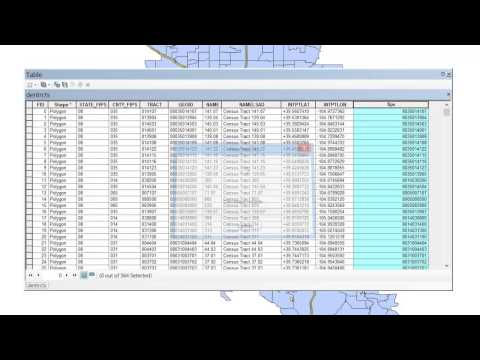 GIS Tutorial: Joining Census Data to a Shapefile - YouTube