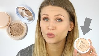 MAYBELLINE DREAM CUSHION FOUNDATION | Test & Review | Top oder Flop?