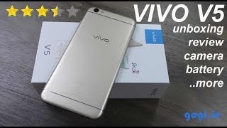 Vivo V5 review - unboxing, camera quality, battery