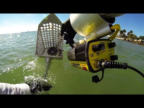 Metal Detecting on Key Biscayne with the Garrett Sea Hunter