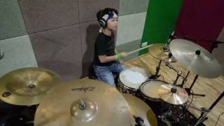 Pandu Putra Bendera Cokelat Drum Cover Bali Rudiment Drum Course