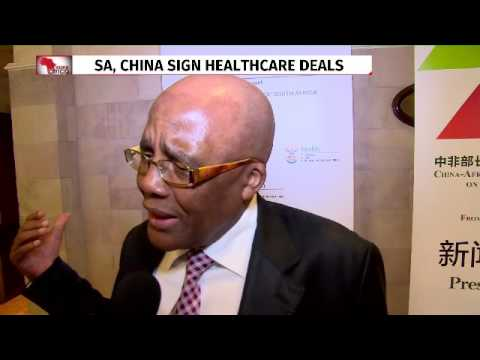 China to help build hospitals in SA