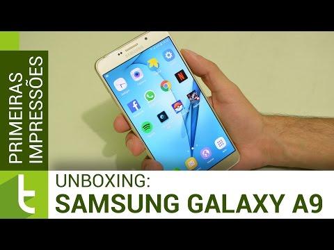 Unboxing e primeiras impressões Galaxy A9 | TudoCelular.com