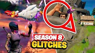 8 SECRET Fortnite Gliтches (Season 8)