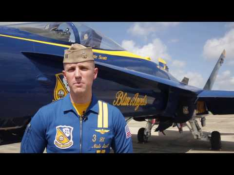 Preview the U.S. Navy Blue Angels at the 2017 New Orleans Air Show