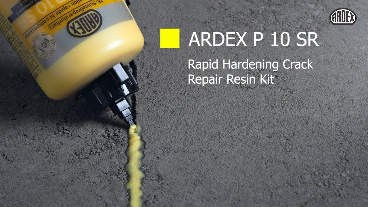ARDEX P 10 SR - Rapid Hardening Crack Repair Resin Kit